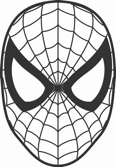 Spiderman Face Spider Birthday Torte Stencil Cake