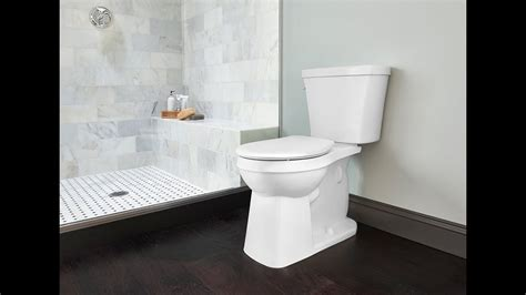 gerber plumbing   avalanche elite toilet youtube