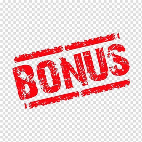 Red Bonus text illustration, Bonus payment Money Casino ...
