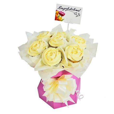 cake craft group baby pink cupcake bouquet box kit
