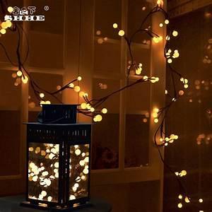 Room, Bedroom, Decorations, 20leds, String, Light, Led, Twigs, Vines, Lights, Round, Balls, Christmas