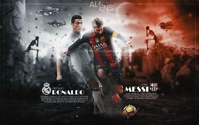 Messi Ronaldo Lionel Cristiano Wallpapers Lm10 Deviantart