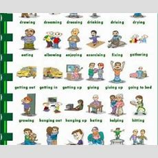 Action Verbs Picture Dictionary