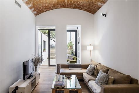 contemporary renovated character home  traditional catalan vaulted ceiling idesignarch
