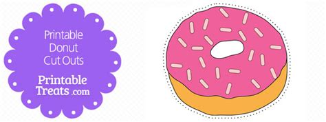 printable donut coloring pages printable treatscom