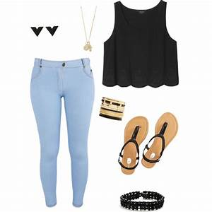 The gallery for --> Light Blue Jeans Outfit For School