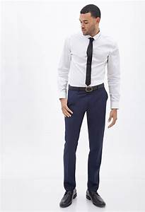 Forever 21 Classic Dress Pants in Blue for Men | Lyst