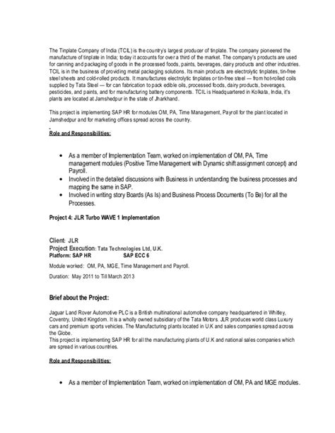 Hr Assistant Resume Sle by Political Science At Le Moyne College Sap Hr Resume Custom