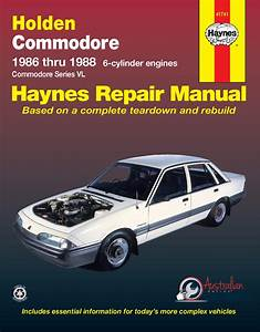 Workshop Manual Suitable For Holden Commodore Vl 1986