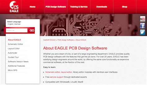 eagle pcb design which software is mostly use in electrical engineering