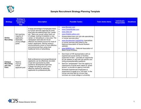 Student Recruitment Plan Template The Reason Why Everyone
