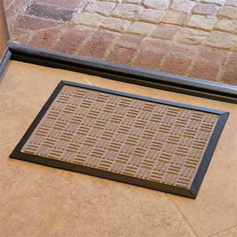 Rubber Backed Carpet Runners Doormats by Quot Wellington Quot Rubber Backed Carpet Mats