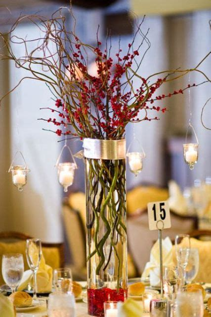 awesome centerpieces picture of awesome christmas wedding centerpieces