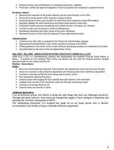 storekeeper resume word format storekeeper resume exle resumes design