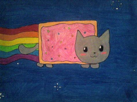 nyan cat drawing nyan cat play