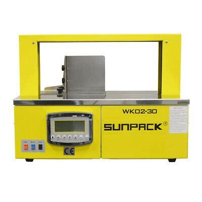 sunpack banding strapping machine wk  bindery packing finishing equipment ebay