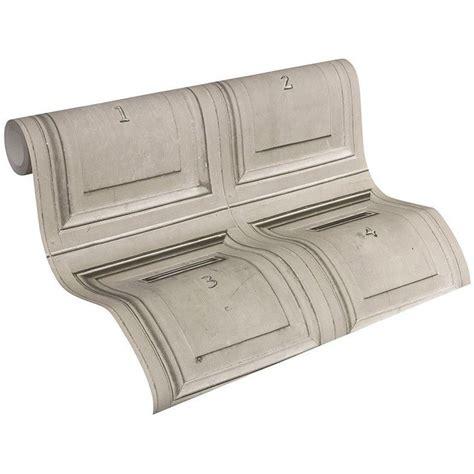 muster für wände vintage post briefkasten tapete holz hellgrau as creation 307451 ebay