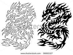 dragon stencil designs images dragon design