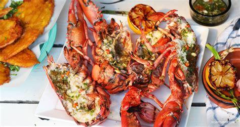 3 recettes de cuisine homard grillé au rhum brun et piment kedny cuisine