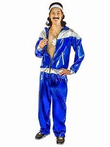 80er Jahre Style : 80er jahre trainingsanzug herrenkost m blau 70er kost m disko ~ Frokenaadalensverden.com Haus und Dekorationen
