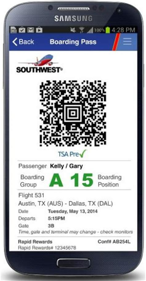 southwest lauches mobile boarding passes points miles