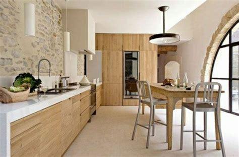 meubles muraux cuisine cuisine moderne bois clair fabulous cuisine