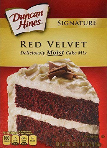 Prepare this white cake as cake pops or use as a cupcake mix; Duncan Hines Moist Deluxe Cake Mix Red Velvet 165 Oz Pack ...
