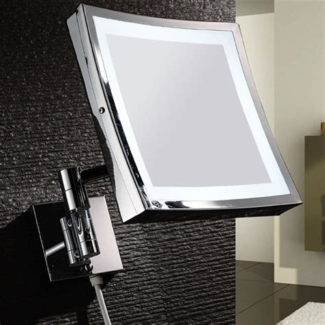 best wall mounted lighted makeup mirror zadro ledovlw410 led oval wall mounted makeup mirror
