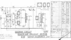 Selmer Diplomat Amplifier Schematic