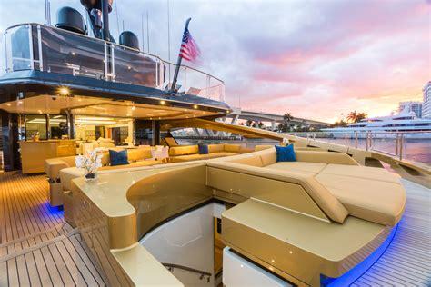Miami Boat Show Vip Lounge by Palmer Johnson 48m Superyacht Khalilah Ruf Lyf