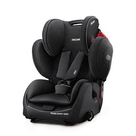 siege auto recaro 123 siège auto sport performance black groupe 1 2