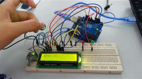 pulse sensor  arduino uno youtube