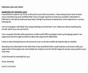 application letter to be a volunteer help dissertation With how to write a cover letter for volunteering
