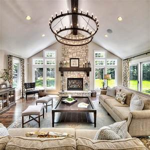 Great Room Interior Design Living Room Traditional With