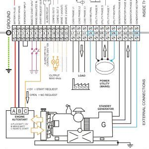 Ats Wiring Diagram For Standby Generator Free