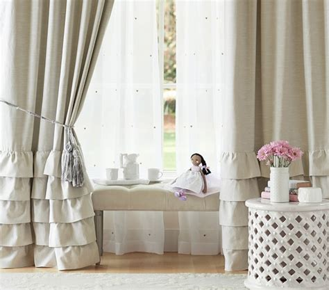 ruffle bottom curtains pink curtain menzilperde net