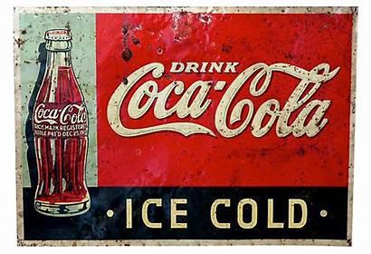Cola Coca 1920s Advertising Sign Chairish