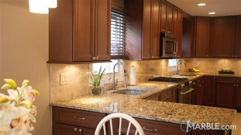 Savannah Gold Granite Kitchen Countertops