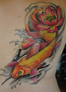 Koi Tattoo Vorlagen : monabiez mein erstes tattoo koi lotus jetzt fertig tattoos von tattoo ~ Frokenaadalensverden.com Haus und Dekorationen