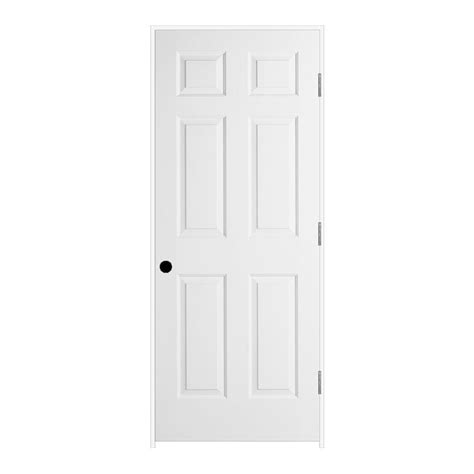 jeld wen interior doors jeld wen 32 in x 80 in textured 6 panel primed molded