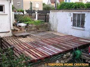 Sol Pas Cher Pour Salon : torpoon home creation terrasse en palettes et salon d 39 t ~ Premium-room.com Idées de Décoration