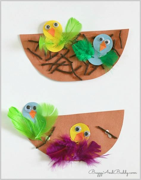 crafts for nest and baby bird craft buggy 972 | d33ca8fa4333617529aad9c8cd0b0e87