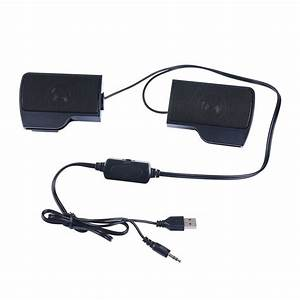 Usb Powered Clip On Speakers