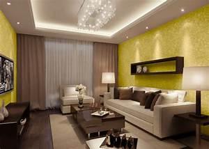Papier Peint Moderne Salon : le papier peint design 50 belles id es ~ Melissatoandfro.com Idées de Décoration