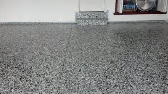 garage floor paint flecks epoxy garage floor with large and small flake shed other by garage floors n more inc