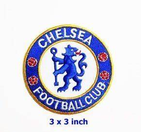 "Amazon.com: Chelsea Football Club Team Patch size 3"" x 3 ..."