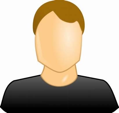 Icon User Male Clker Clip Clipart