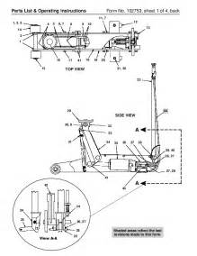 spx otc 5110 air hydraulic floor service jack owners manual