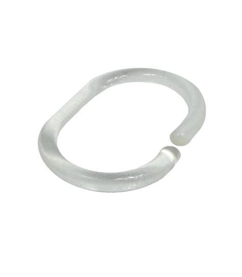 anneaux rideau de anneaux pour rideaux de en plastique transparent 12 anneaux wadiga