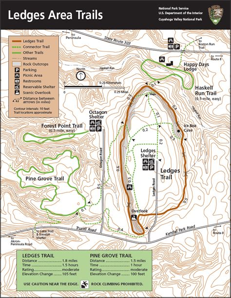 Pin Valley National Park Map